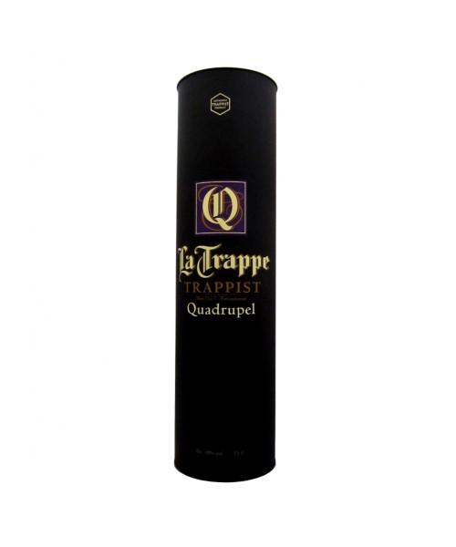 La Trappe - Quadrupel 75cl. in Geschenkkoker
